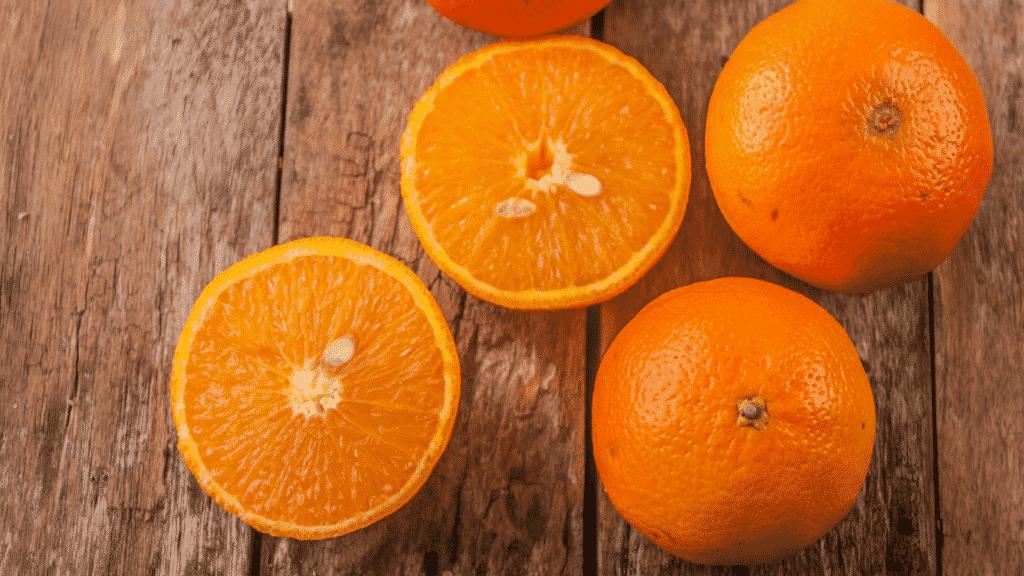 La naranja, el sol en la tierra