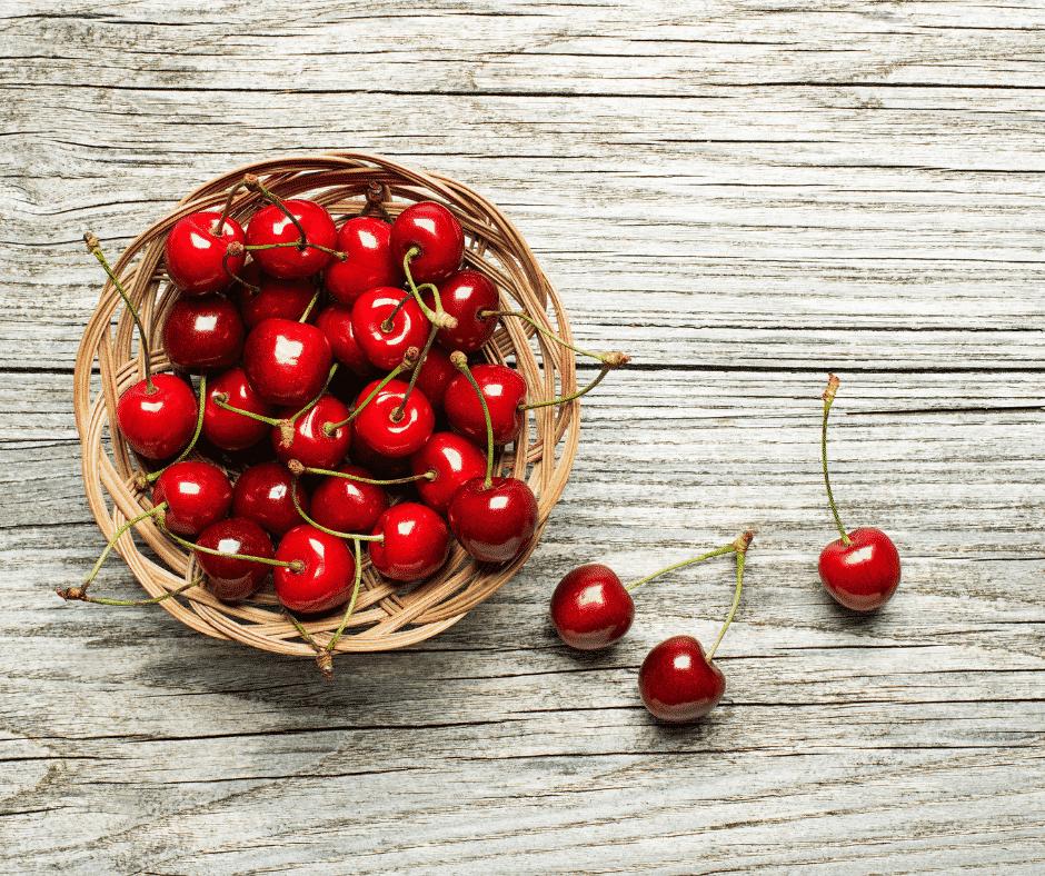 La cereza, el alimento del mes en Zuhaizpe